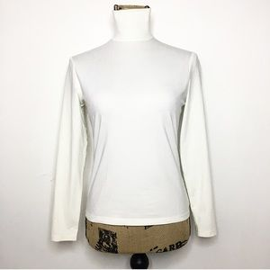 St. John Sport Long Sleeve Turtleneck Shirt